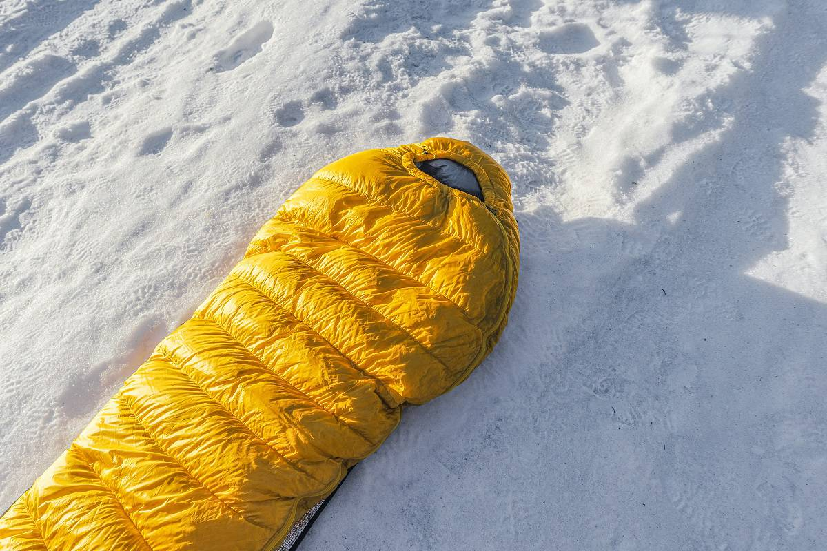Best Winter Sleeping Bag - wanderingprivateer.com