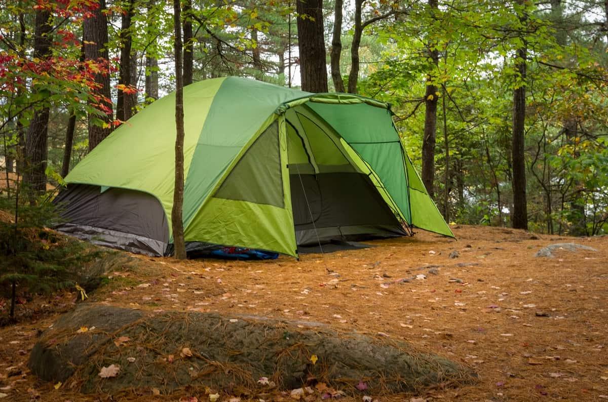 Marmot Limestone 4P Camping Tent Review - wanderingprivateer.com