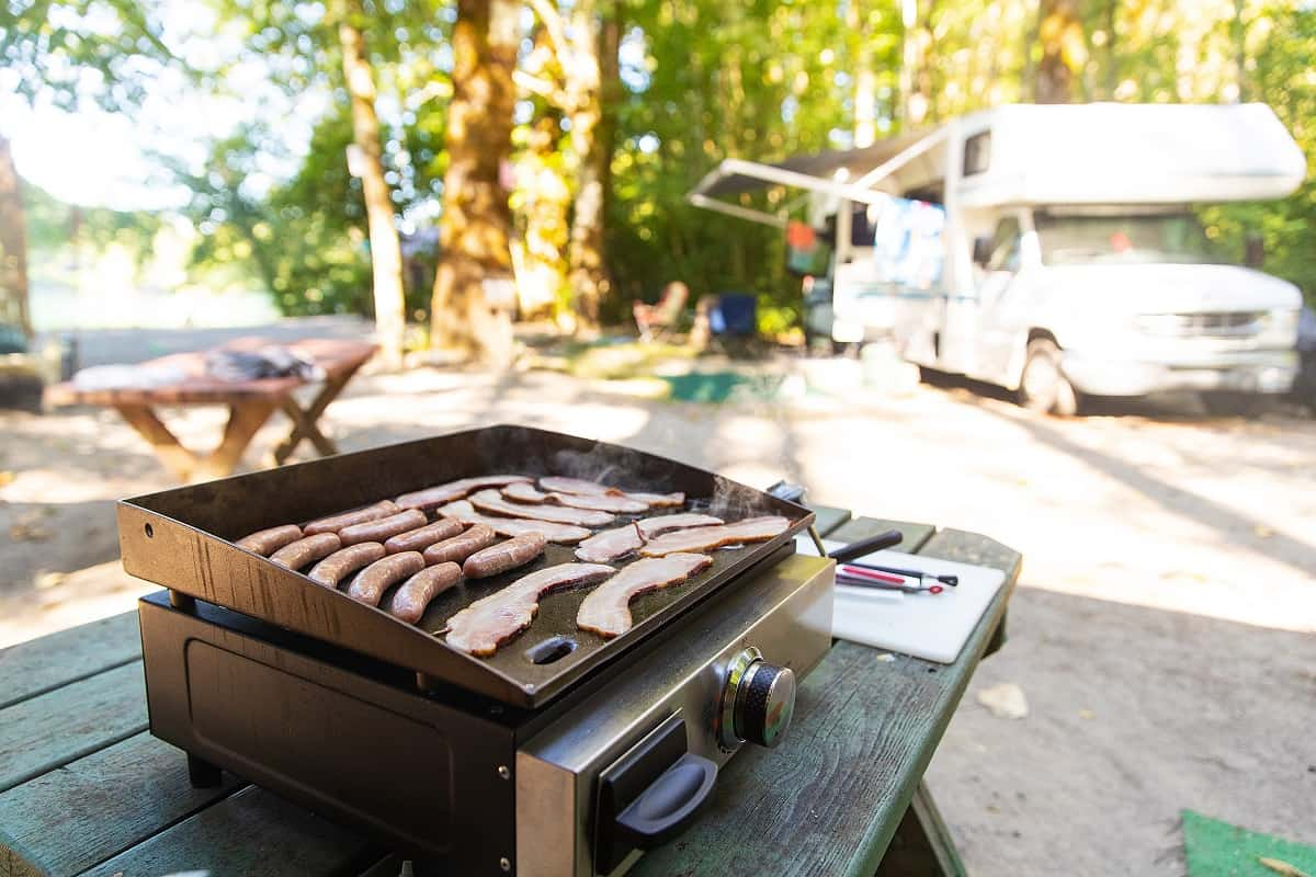 Best Camping Grill - wanderingprivateer.com