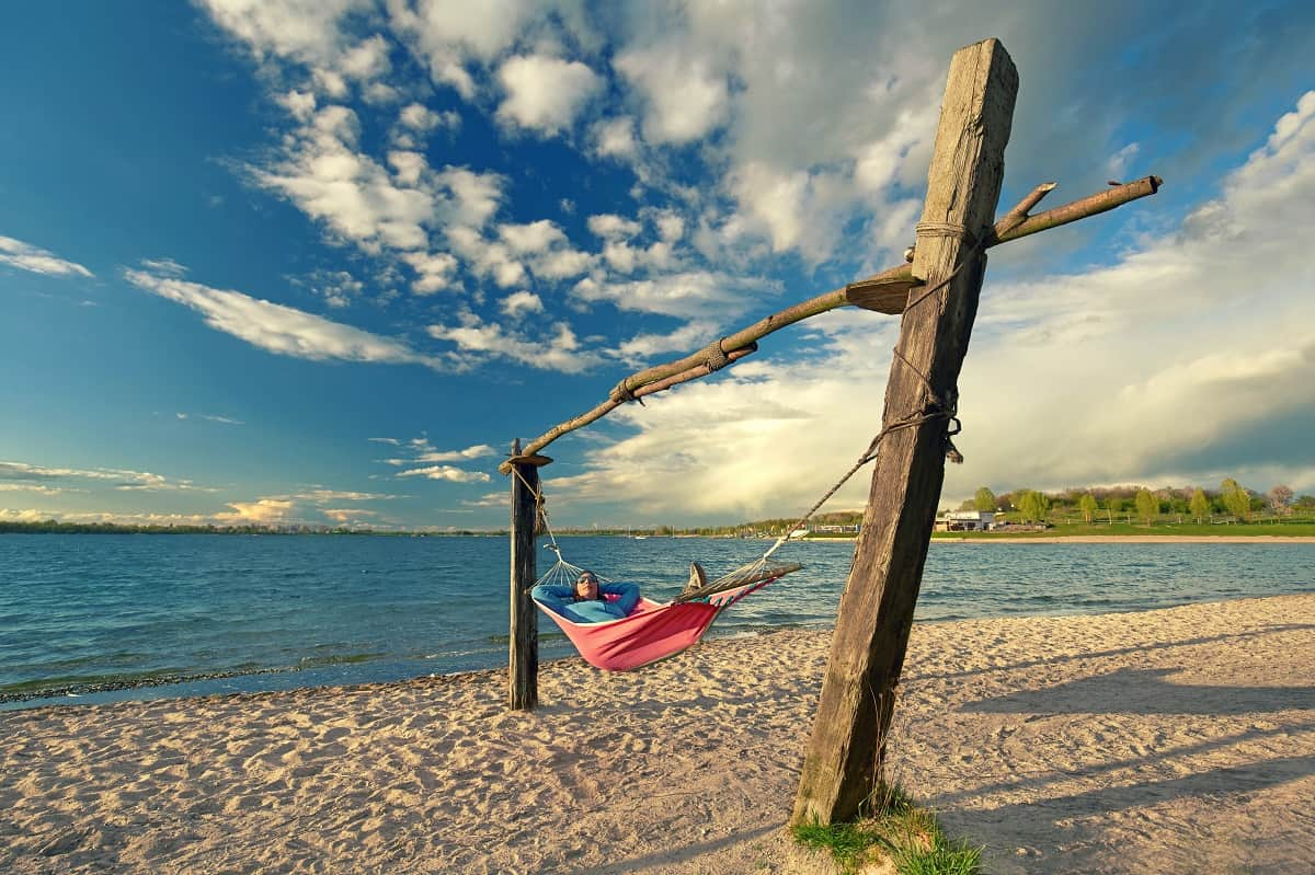 How to Hang a Hammock Without Trees - wanderingprivateer.com