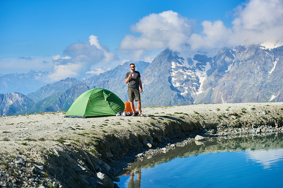 How Best to Set Up a Tent on a Rocky Mountain - wanderingprivateer.com